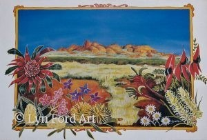 Native Australian Plants and Olgas
