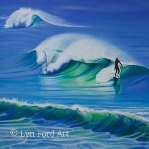 Surfer on Wave