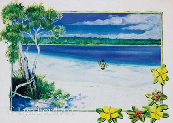 Lake McKenzie, Fraser Island, QLD