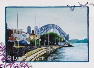 Sydney Harbour Bridge, Sydney.