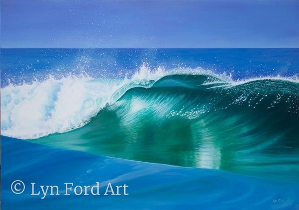 Lynette Ford Wave on Pippi