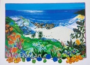 Dune Flowers, Convent Beach, Yamba